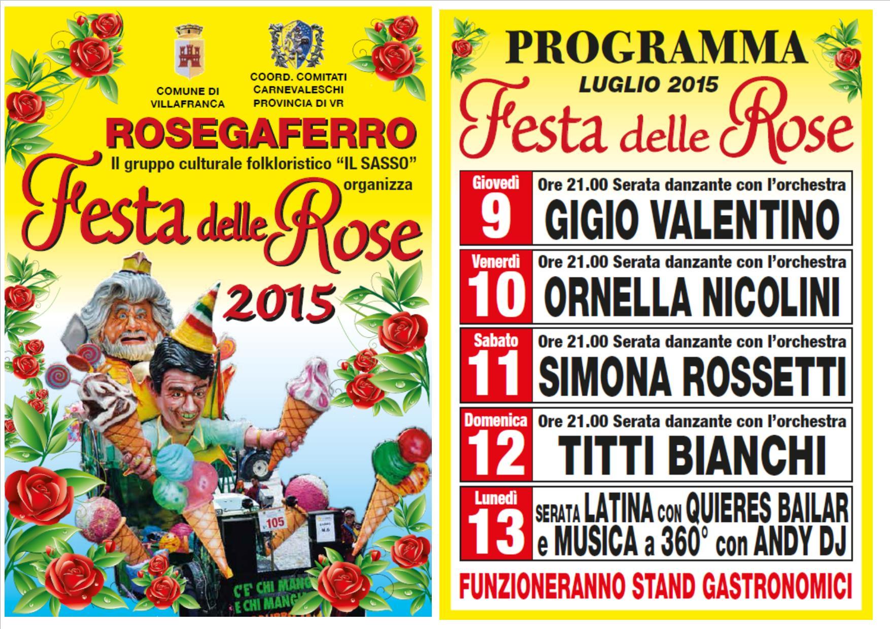 Calendario Titti Bianchi.Festa Delle Rose
