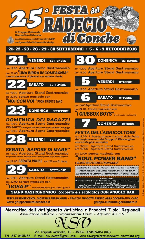 Calendario Mercatini Veneto.Mercatino Della 25 Festa Del Radecio Di Conche