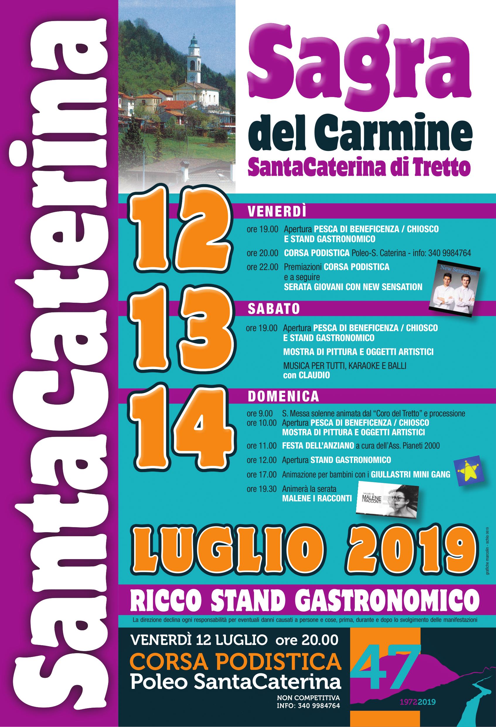 Calendario Manifestazioni Veneto.Sagra Santa Caterina Di Tretto